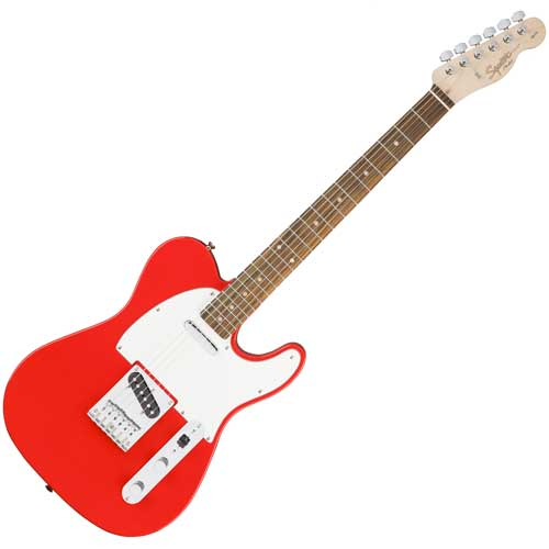 Fender Squier Affinity Telecaster, race red