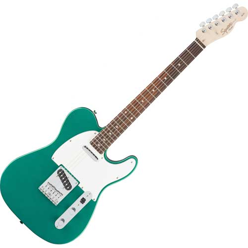 Fender Squier Affinity Telecaster, racing green