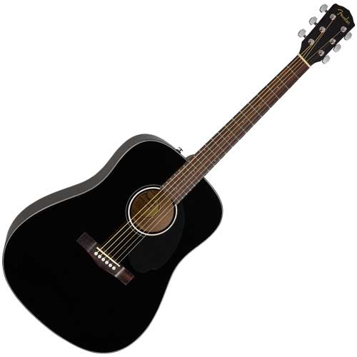 Fender Westerngitarre CD60 S, black