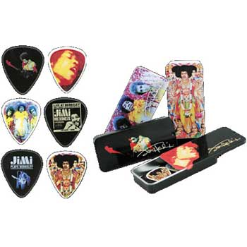 Dunlop Plektrum Jimi Hendrix Collection kompl.