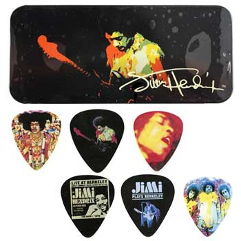 Dunlop Plektrum Jimi Hendrix Collection