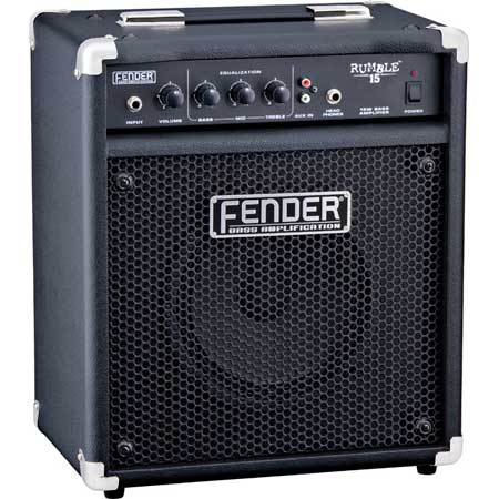 Fender Verstärker Rumble 15 Bass Combo