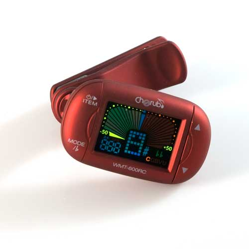 Clip-On Metro/Tuner<br><br>Cherub WMT-600RC