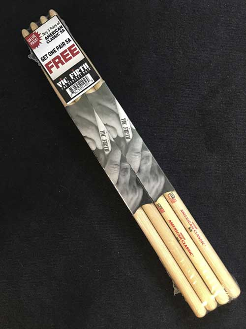 Vic Firth 3+1 gratis Pack